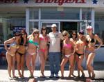 Car show bikini girls benefits male