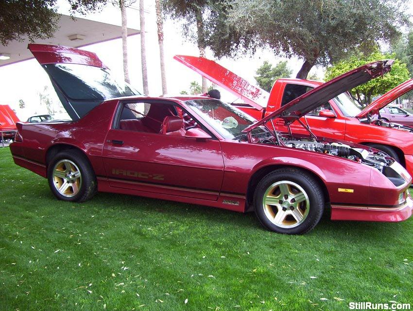 Chapman Chevy Car Show Tempe Arizona