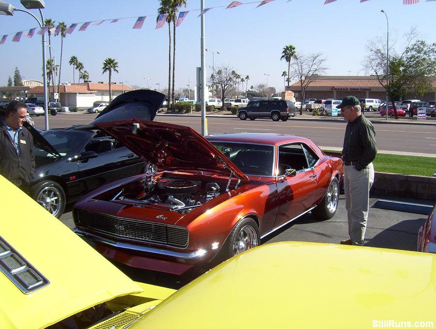 Chapman Sweetheart Chevy Car Show Tempe Arizona