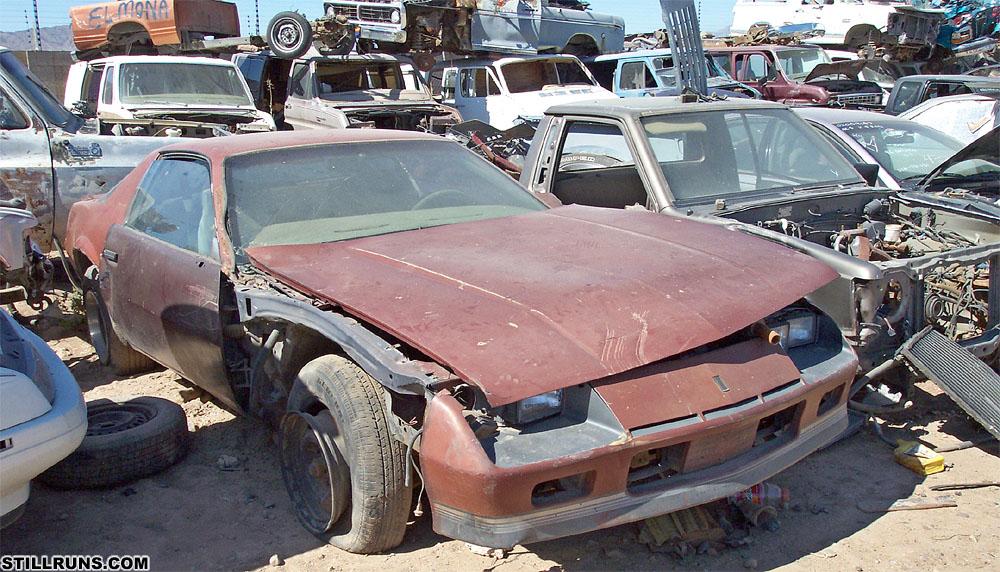 Camaro Wrecking Yards : Camaro salvage yard autos post