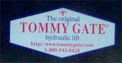 Tommy Gate - The Original Hydraulic Lift.
