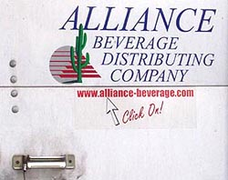 Alliance Beverage Distributing Company.